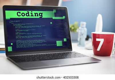 Coding Analysis Computer Data Internet Code Concept