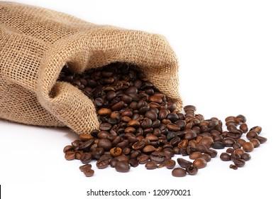 Cofee baens with sack