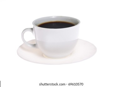 Coffe cup isoalted on white background