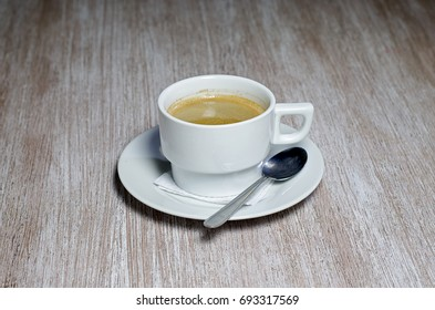 coffe  cup with spoon