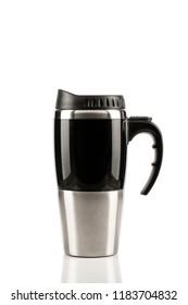 coffe mug on white