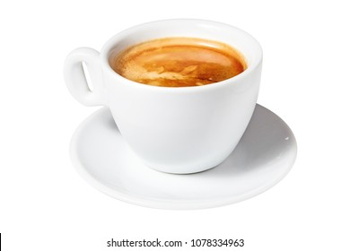 Coffee americano. Isolated on a white background. Ready for menu