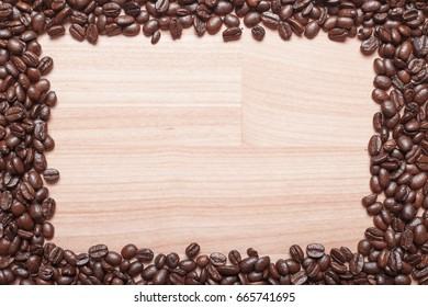 Coffee bean backround
