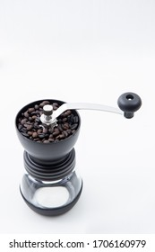 coffee bean on Coffee grinder