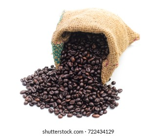 Coffee Bean with white background