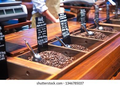 Coffee Beans, bakery, Starbuck Reserve Roastery