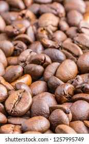 Coffee Beans close up background
