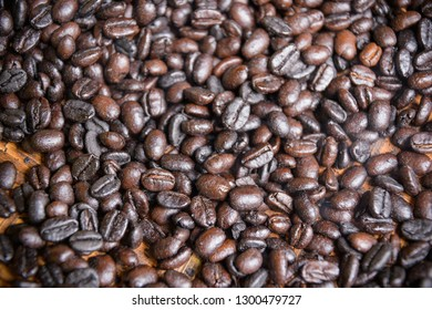 Coffee Beans fresh from the roaster