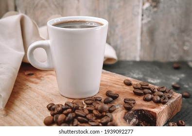 Coffee beans on wooden Close Up Photography