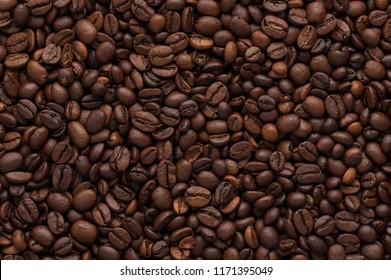 Coffee Beans Texture High Quality