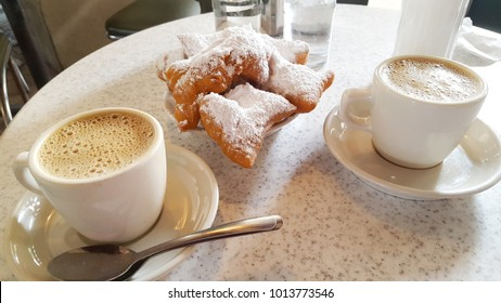 Coffee and Beignets Cafe Du Monde