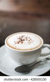Coffee break and Blur background