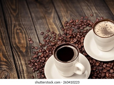Coffee, Cafe, Food And Drink Industry.
