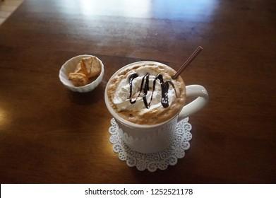 A coffee cafemocha
