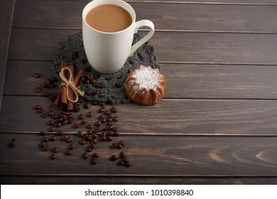 coffee cake and cinnamon