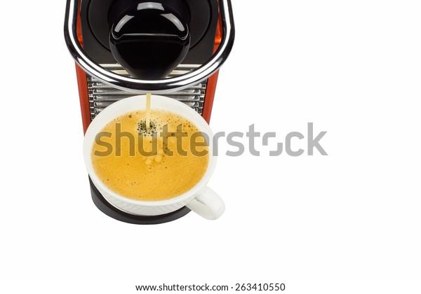 The coffee capsules