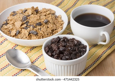 Coffee and cereal