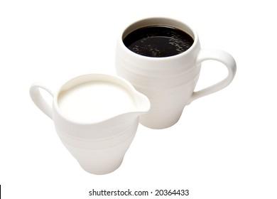 Coffee and cream