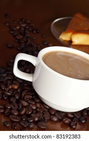 coffee and creme caramel pudding