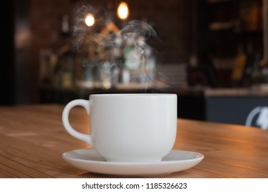 coffee cup in the cafe