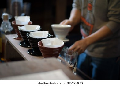 Coffee cup ind paper menu