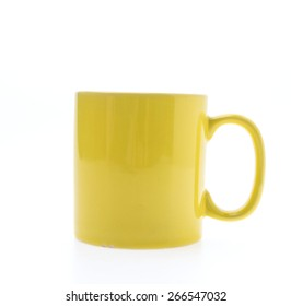 Coffee cup isolated on white background
