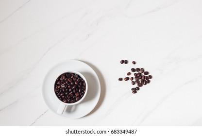 coffee cup , Coffee mug on marble