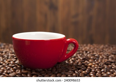 coffee cup on background