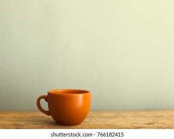 Coffee cup. Coffee time