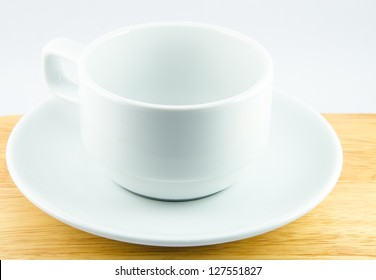 Coffee cup with white backgrounds.