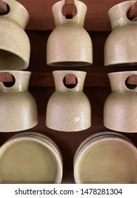 Coffee cups pattern design interiorism