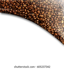 Coffee design background