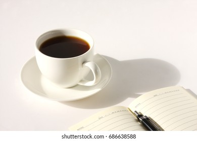 Coffee with a diary