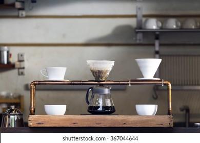 Coffee drip set