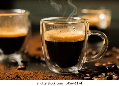 coffee espresso smoke