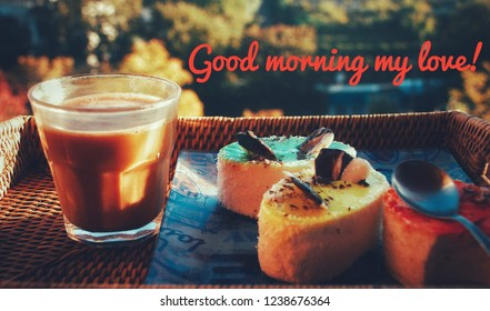 Good Morning My Love Images Stock Photos Vectors Shutterstock
