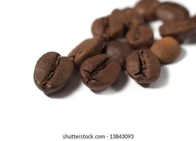 The Coffee grain  background