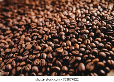 coffee grains background