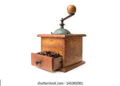 coffee grinder isolated