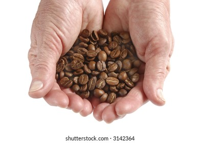 coffee in hands