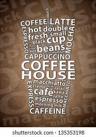 Coffee House Retro Ad