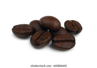 Coffee isolated on a white