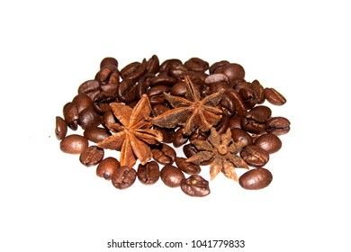 coffee isolated on white background