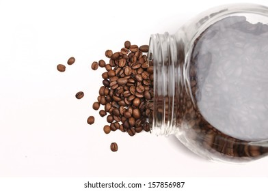coffee in jar