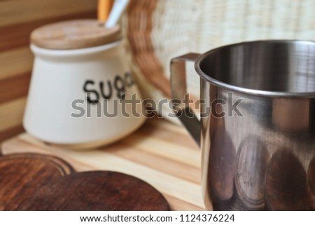 Coffee Kitchen Themed Shoot Breakfast Time Stock Photo Edit Now