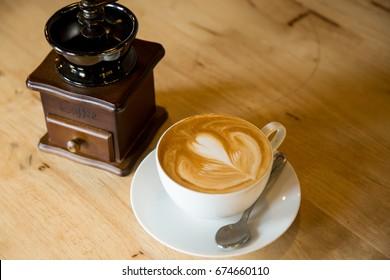 Coffee Latte Art.