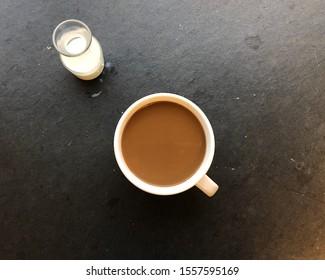 Coffee Light Cream with Cream side