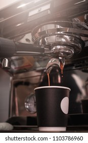 coffee machine. drops.