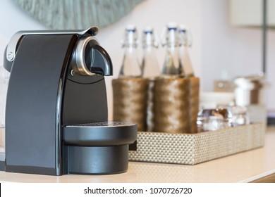 Coffee machine in Kitchen room