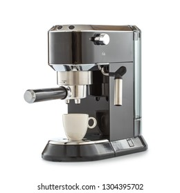 coffee maker on isolated white background.